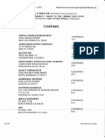 Melchiori Construction List