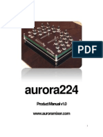 Aurora 224 Product Manual