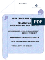 Note Circulaire 717 Tome1