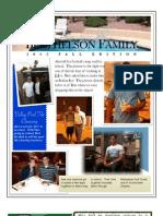 Berthelson Fall 2012 Newsletter