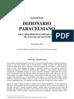 (eBook - Alchimia - ITA) - Dorn, Gerard - Dizionario Paracelsiano