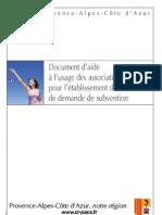 Dossier Aide Demande de Subvention Crpaca