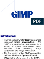Gimp Lecture Notes2