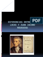 Diferencias Entre John Locke y Juan Jacobo Rousseau