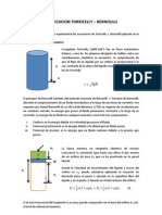 Verificacion Torricelly Bernoulli