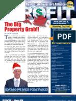 The Profit Newsletter for Atlanta REIA - December 2012