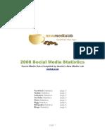 Social Media 2008 Statistics