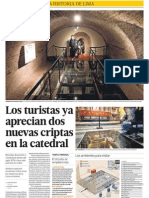 Turismo criptas Catedral LIma