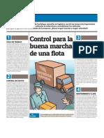 Proceso Control para flota vehiculos
