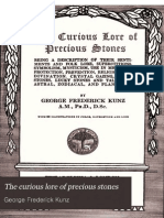 The Curious Lore of Precious Stones (1913) by George Frederick Kunz
