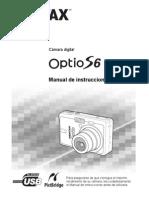 Pentax Optio S6 Manual español