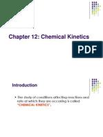 Chapt 12 - Chemical Kinetics