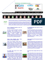 Thursday - November 29, 2012 - ForeclosureGate Gazette