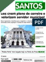 Plano de Carreira Servidores Santos