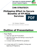 Phil Efforts on FP-MCH