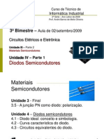 Unid. 3 - Mat. Semic. & Unid. 4 - Diodos Semic.1