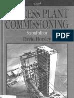 Process Commissioning Plant David Horsley