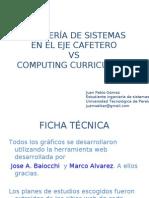 Comparacion Planes de Estudios Ingenieria de Sistemas Regional