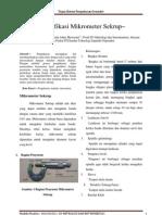 Paper Mikrometer FIX