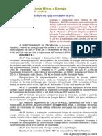 Decreto de 12-11-2010 - CHESF 3