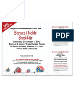 2012 Holiday Bookfair Flyer w Vouchers COLOR