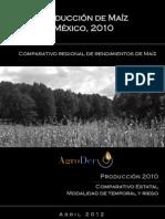 Produccion de Maiz en Mexico-AgroDer 2012