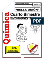 Rx. Quimicas y Balance de Ecuaciones