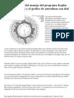 Manual Sencillo Del Manejo Del Programa Kepler y Las Astrodinas