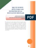Autismo Un Nuevo Concepto Para Los Docentes en La Educacion Regular