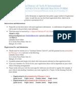 2013 DCON Kiwanis Registration Form