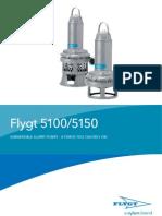 Flygt 5100-5150 Pumps