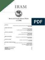 (eBook - Massoneria - ITA) - GOI - Hiram - Rivista Del Grande Oriente d'Italia - 2002 Vol. 4