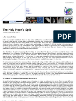 The Holy Moon's Split