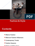 Fashion & Styling
