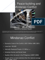 Women, Peace-building and the Mindanao Conflict