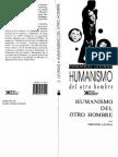Levinas - Humanismo Del Otro Hombre
