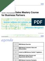 Ibm Netezza Sales Mastery Course