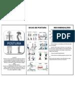 Folder Postura