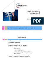 11.1.5 SME Financing in Malaysia