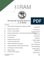 (eBook - Massoneria - ITA) - GOI - Hiram - Rivista Del Grande Oriente d'Italia - 2005 Vol. 2