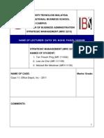 Case 10_office Depot, Inc - 2011