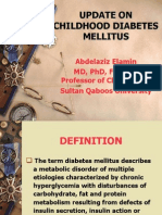 Diabetes Mellitus in Children