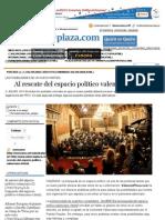 Al rescate del espacio político valenciano - Valencia Plaza