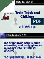 Train Track And Children