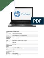 Oferta Portatil HP