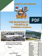 Available location for investing Prijepolje