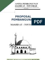 Proposal Mesjid at-Toyyibah