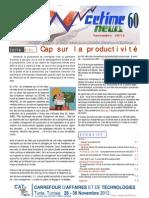 cetimenews n° 60 - nov. 2012