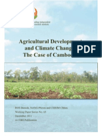 agricultural development and climate change the case of cambodia