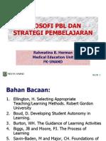 2. Filosofi PBL Dan Strategi Pembelajaran